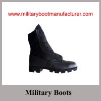 Wholesale Wholesale China Made Full Grain Leather  Military Jungle DMS Boot from china suppliers