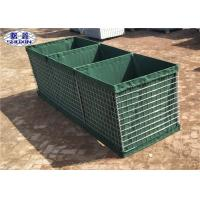 China Galvanized Gabion Box Geotextile Lined Feature For Preventing Explosion for sale