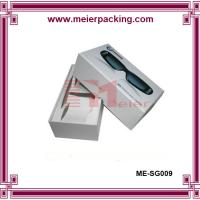 Wholesale Rigid cardboard paper box for sunglasses, luxury sunglass paper box with logo ME-SG009 from china suppliers