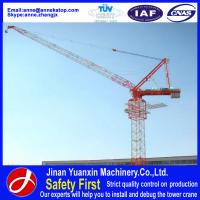 Wholesale Yuanxin low cost good used luffing jib cranes for sale in dubai from china suppliers