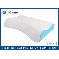Wholesale Visco Elastic Memory Foam Massage Pillow Neck Pillow with Comfortable Cover from china suppliers