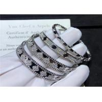 Wholesale Women'S 18K White Gold Bracelet With Diamonds from china suppliers