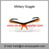 Wholesale Wholesale Cheap China Outdoor Army Use Anti-Fog Military Goggle from china suppliers