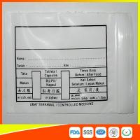 Wholesale Custom Printed Plastic Medical Ziplock Bags Reclosable Waterproof Non Poisonous from china suppliers