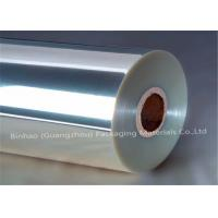 Wholesale Clear Transparent BOPP Pearlized Film Stretch Wrap / Cigarette Pallet Wrap from china suppliers