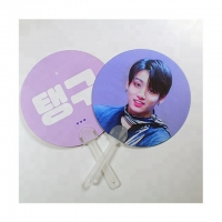 Wholesale 0.6mm PET Lenticular 3D Moving Fan BTS EXO Of Super Stars from china suppliers