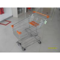 Buy cheap Low Carbon Metal Shopping Cart 100L With 4 Swivel 4 Inch Autowalk Casters from wholesalers