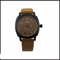 Wholesale Coolest Luxury Men'S Quartz Watch , PU Belt Mens Casual Watches Shatter Resistant from china suppliers
