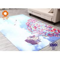 Quality Swan Lake Home Decoration Printed Felt Carpet Sheets for sale