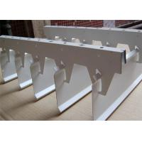 Powder / Paint Coated Aluminium Strip Ceiling For Shopping Mall for sale