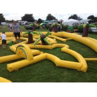 Wholesale Outdoor Mobile Crazy Inflatable Golf Course Apply To Family Event from china suppliers