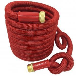 China Expandable Garden hose,50FT, 2016 New design, strongest garden hose, brass coupling on sale