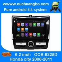 Wholesale Ouchuangbo DVD GPS Navigation iPod USB 3G Wifi for Honda city 2008-2011 Android 4.4 OS from china suppliers
