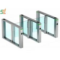 Wholesale Waist High Biometri Supermarket Swing Barrier Speed Swing gate For Subway from china suppliers
