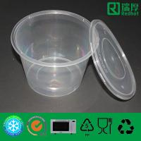 Buy cheap Biodegradable Plastic Lunch Box Can Take out 1750ml from wholesalers