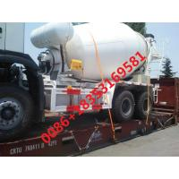 Wholesale HOWO Concrete Mixer Truck STEYR 8-16cbm 8x4 Euro 2/3  LHD RHD  371HP With Italy PTO and MOTOR from china suppliers