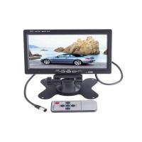 "Wholesale 7"" TFT LCD Color Car Rearview Headrest Monitor DVD VCR from china suppliers"