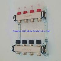 China Stainless Steel Heating Manifold With Pex Adapters ,Manifold Set for Floor Heating System for sale