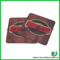 Buy cheap Paper custom drink coaster from wholesalers