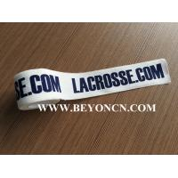 Wholesale White Printed Logo Unique Sports Tape 100% Cotton For Client from china suppliers