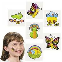 Wholesale Baby Animals Temporary Tattoo from china suppliers