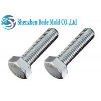 China Full Thread Hex Head Bolt Screws DIN933 M4-M40 Stainless Steel A2 Materials on sale