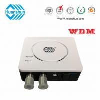 Wholesale Huanshun X/G/EPON Wdm Double Output FTTH Optical Receiver 2X78dBm two ways from china suppliers