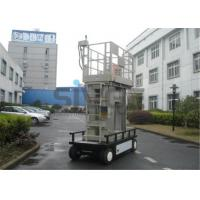 Quality Aluminium Mast Self Propelled  Aerial Lift 12m For Office Buildings for sale