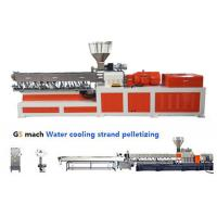 Wholesale Electrical Control  PP ABS Double Screw Extruder Water Strand Pelletizing Line from china suppliers