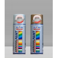 Wholesale ISO9001 18K Gold Black Aerosol Spray Paint For Cars Quick Drying from china suppliers