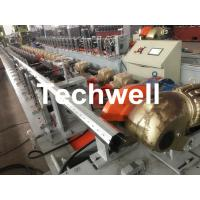Wholesale 40mm, 60mm, 70mm, 80mm Octagon / Octagonal Pipe Roll Forming Machine With Fly Saw Cutting from china suppliers