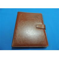 Wholesale Personalized 1 Color Leather Bound Book Printing A4 B5 With Gloss Lamination from china suppliers