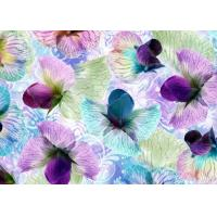 Wholesale Anti Wrinkle Digital Silk Jersey Fabric 1.4 Meter With Flowers Decoration from china suppliers