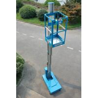 Wholesale Blue Self Propelled Aerial Lift Single Mast Self Propelled With 5 m Working Height from china suppliers