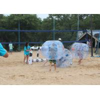 Quality Adult TPU Inflatable Bumper Ball , Outdoor Inflatable Toys Bubble Soccer Ball for sale