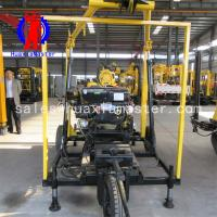 Wholesale XYX-130 wheeled hydraulic core drilling rig machine Supplier from china suppliers