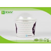 Wholesale 16oz 500cc Disposable Paper Ice Cream Cups with Clear Dome Lids for Taking Away from china suppliers