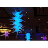 Wholesale Inflatable Led Advertising Displays 11ft Tall Celling Led Lighting Agave Plant Organic Shape from china suppliers