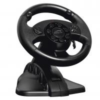 Buy cheap FUTIME game steering wheel racing wheel with foot pedal for PC + X-INPUT + PS2 + PS3 from Wholesalers