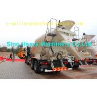Wholesale 10cbm Sinotruk Concrete Mixer Truck HOWO A7 Concrete Mixer Truck 8x4 266-371hp With Italy pump and motor from china suppliers