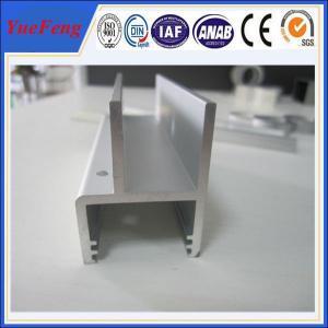 China 6000 series aluminium extrusion profile aluminum strip supplier, aluminum channel price on sale