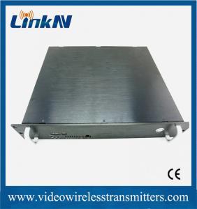 China COFDM Full HD Wireless Transmitter , High Resolution Wireless Video Sender on sale