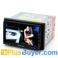 Wholesale Nitro - 2 DIN Car DVD Player with DVB-T TV (7 Inch Touch Screen, GPS, Windows CE 6.0) from china suppliers