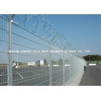 Wholesale Anti Intruding Airport Security Fencing Panels Electrostatic Polyester Coated from china suppliers