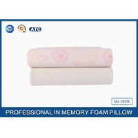 Wholesale Comfort Children Ventilated Contour Cloud Memory Foam Pillow , Health Cotton Cover Pillow from china suppliers