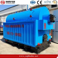 China Incineration Coal Fired Central Heating , Coal Steam Boiler Anti Coking Quick Heating on sale