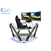 Wholesale Theme Park Competition 9D 3D Full View Vr Car Driving Simulator from china suppliers