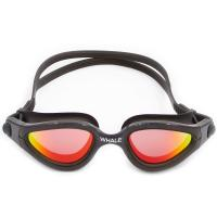 Quality Black Anti - Fog Silicone Swimming Goggles With Polarized Lens for sale