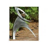 Wholesale Metal Garden Customized Outdoor Metal Sculpture / Figurative Abstract Sculpture from china suppliers