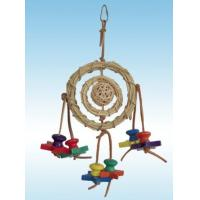 Wholesale natural wicker parrot toy perfect for shredding, made of natural material from china suppliers